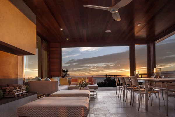 Al fresco dining and entertaining options are in abundance. Photo 2 of The Cape modern home