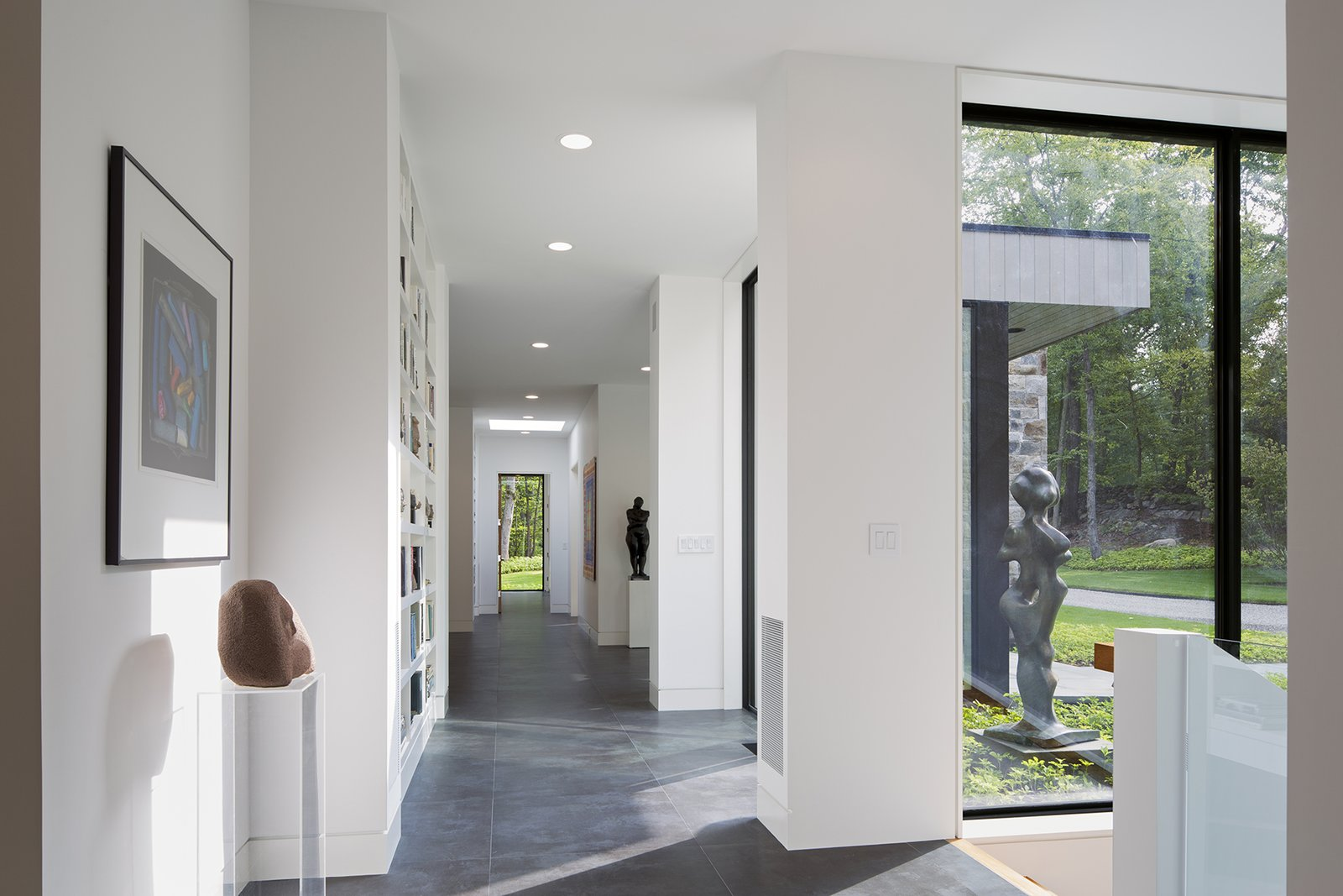 Art House 2.0 Interior: Gallery Like Hallway Art House 2.0 by Carol Kurth Architecture