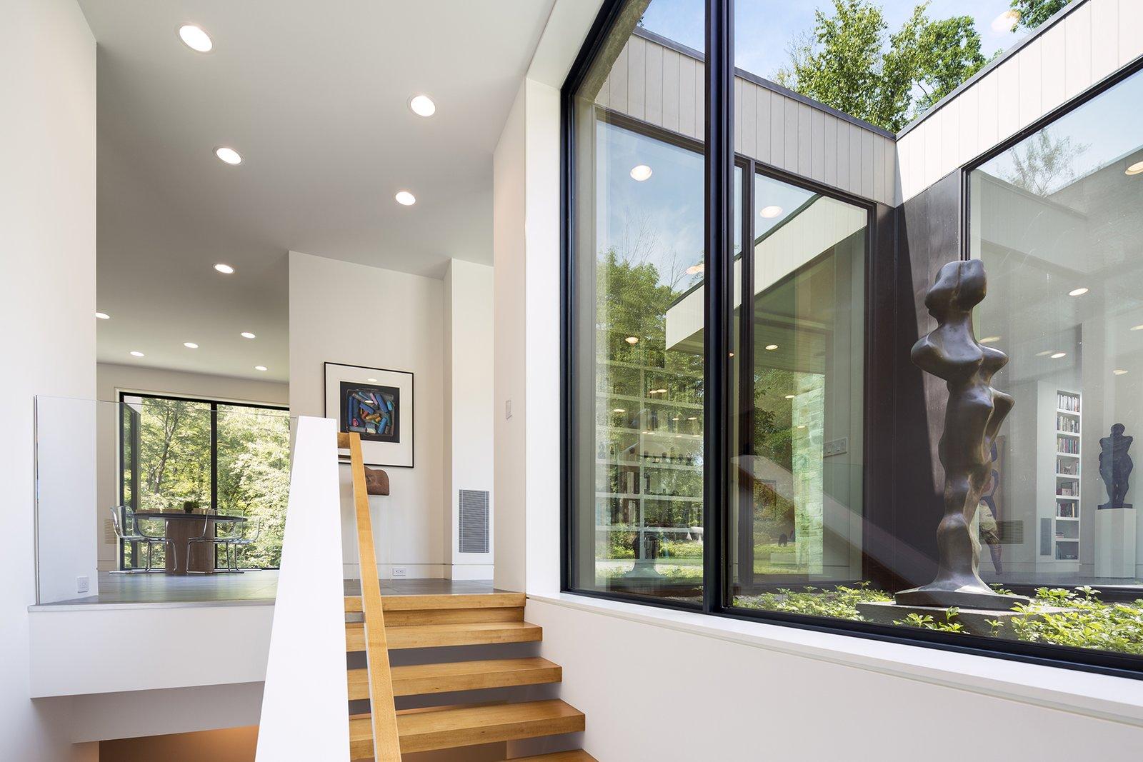 Art House 2.0 Interior: Stairway, Sculpture Garden  Art House 2.0 by Carol Kurth Architecture