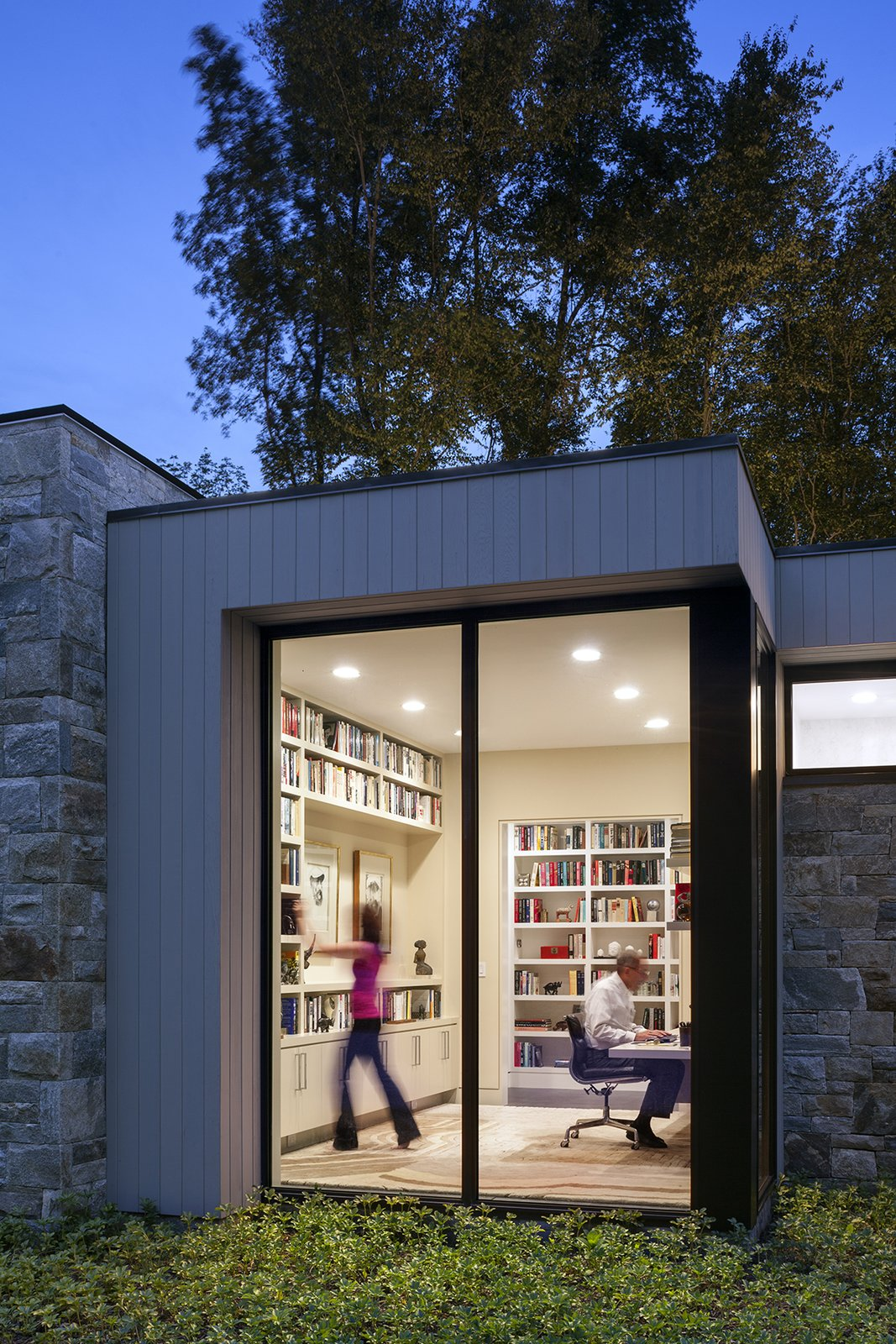 Art House 2.0 Exterior: Library  Art House 2.0 by Carol Kurth Architecture