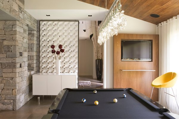 Billiards Room Photo 5 of Five Star House modern home