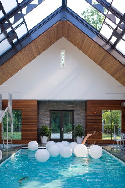Indoor Swimming Pool Photo 10 of Five Star House modern home