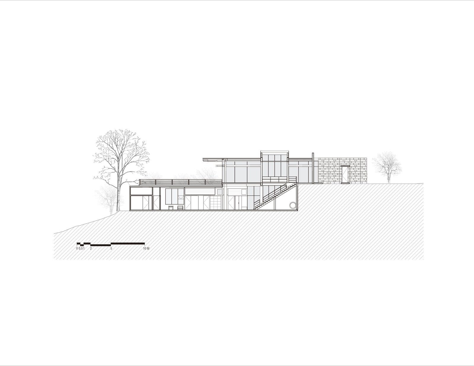 Section -E  Murray Music by CARAZO ARQUITECTURA