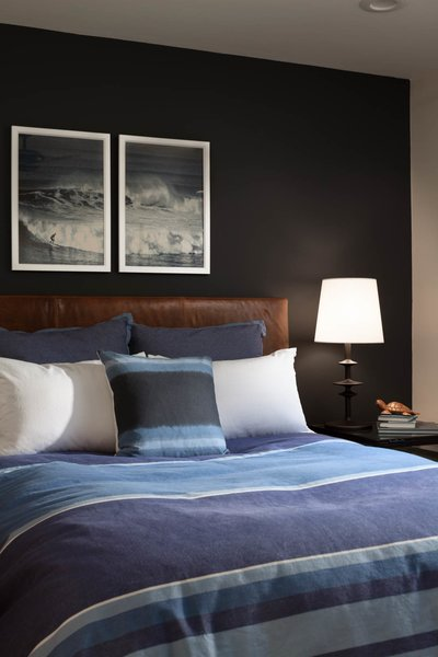 Modern home with bedroom, bed, and table lighting. Bedroom. Interior design by Carrington Hill Designs. Photo 7 of Atherton Home Design Makeover