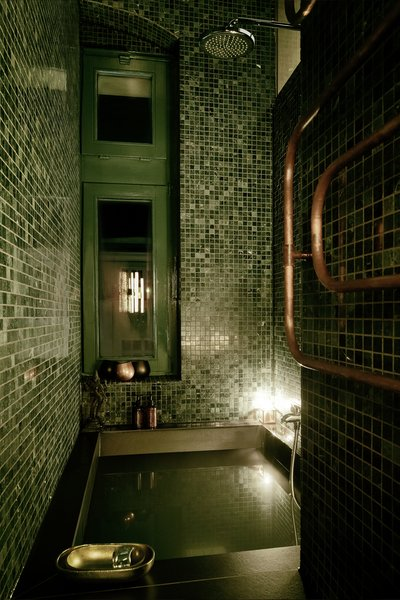 green marble hammam Photo 7 of Apartment XS modern home