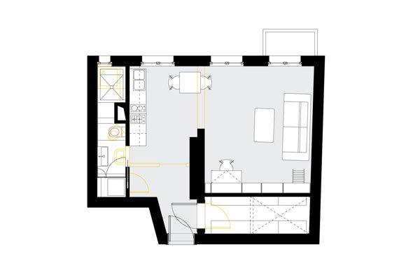 Floor Plan Photo 5 of Apartment XS modern home