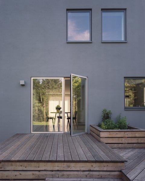 new garden terrace