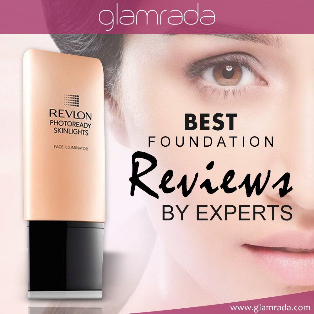 Best Foundation Reviews by Experts   Beauty Products Reviews by Glamrada Official