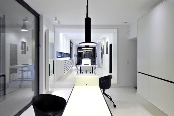Office Photo  of Huis Pauwels Spaenjers modern home