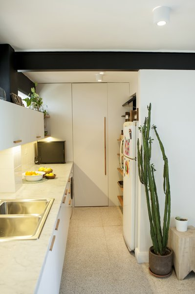 A door hides the boiler and the pantry Photo 2 of Artigas modern home