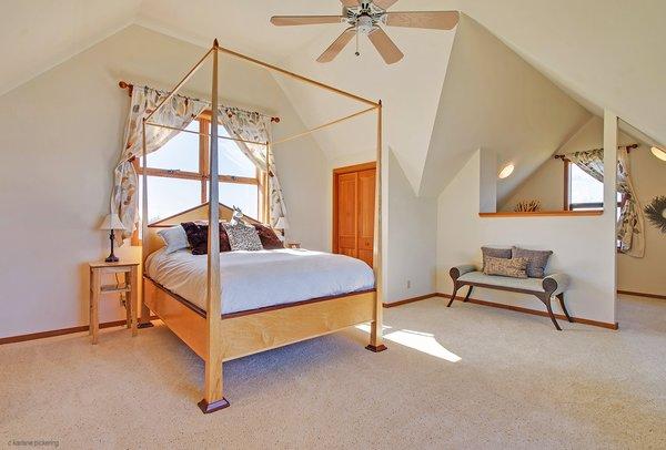Master Bedroom  Photo 16 of Idyllic Lopez Island Bayfront Home modern home