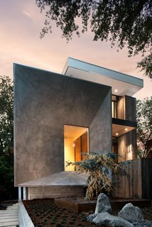 9 Angular Homes Inspired by Geometry - Photo 5 of 9 - Designed by West Architecture Studio, this home in Atlanta, Georgia, was inspired by the geometric construction of the tesseract (the four-dimensional analogue of a cube).