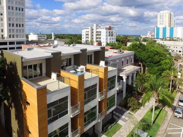 Top terrace. Photo  of LIV233 modern home
