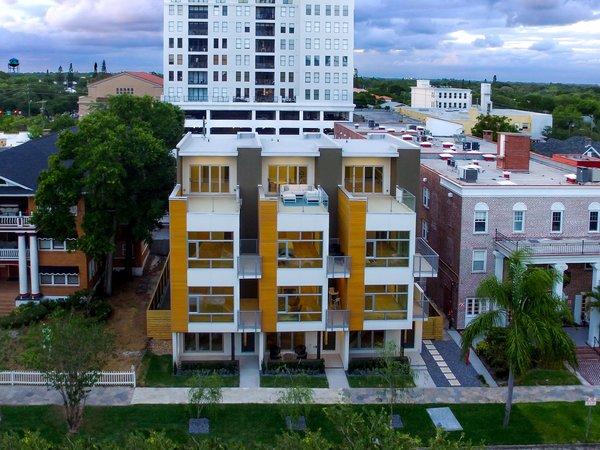 South facing facade.  Photo 2 of LIV233 modern home