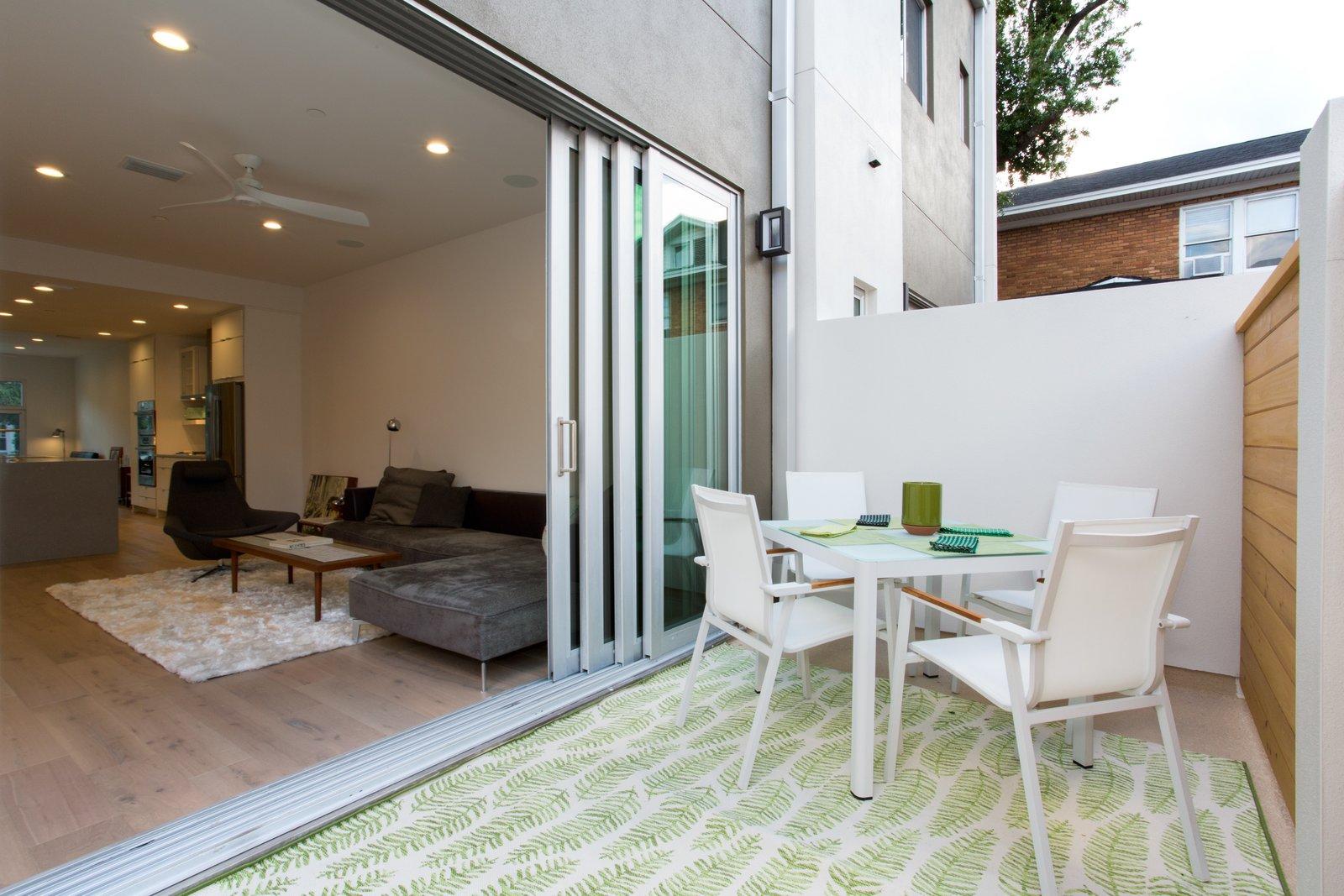 Rear Terrace.   LIV233 by Hudson Harr