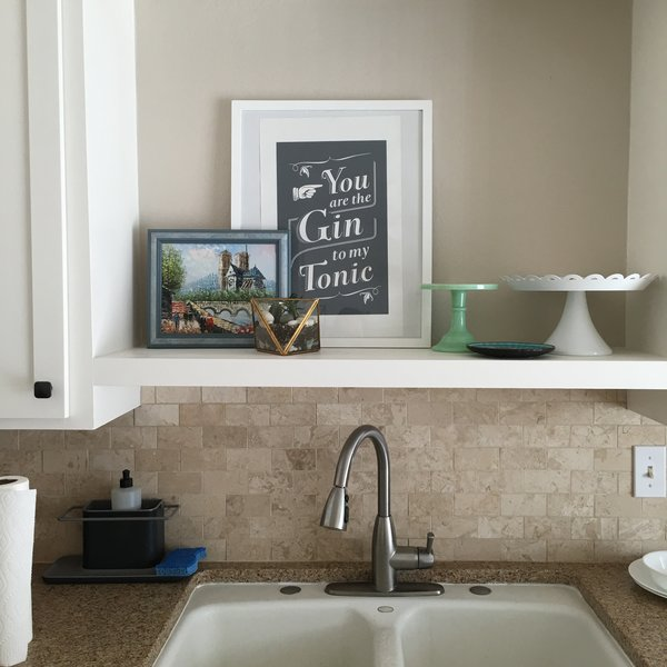 Kitchen sink and counter Photo 11 of The Cameron Craftsman modern home