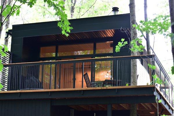 Summer Exterior Shot Photo 3 of SHAK Cottages modern home