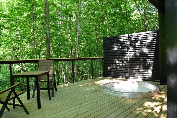 Summer Exterior Shot Photo 7 of SHAK Cottages modern home