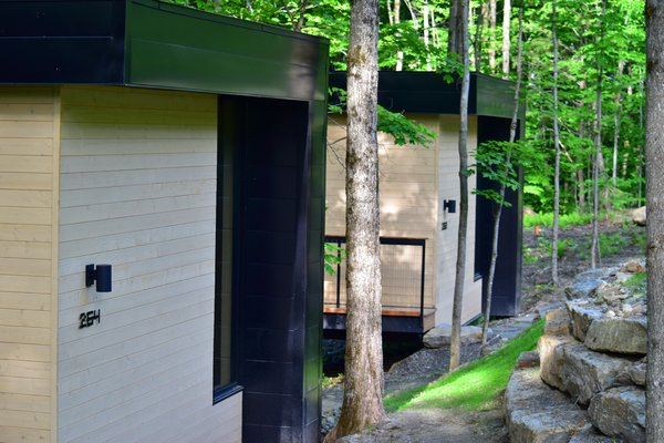 Summer Exterior Shot Photo 6 of SHAK Cottages modern home