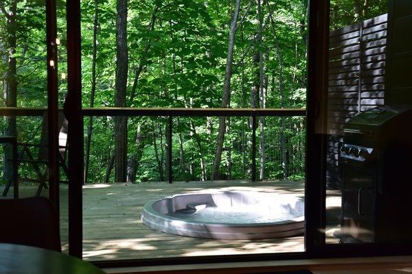 Summer Exterior Shot Photo 9 of SHAK Cottages modern home