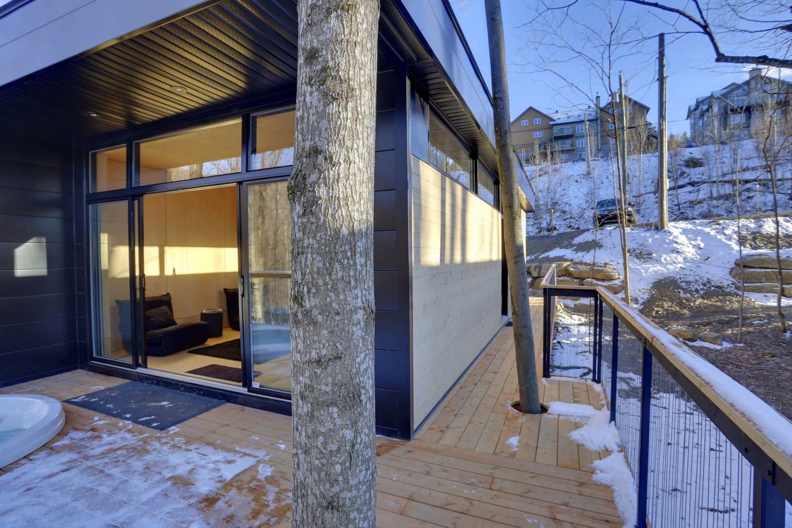 Winter Exterior Shot