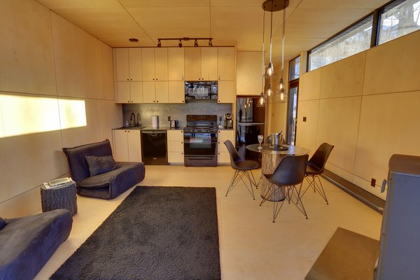 Living Space Photo 20 of SHAK Cottages modern home