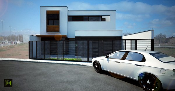 Render Photo  of Casa Herranz modern home