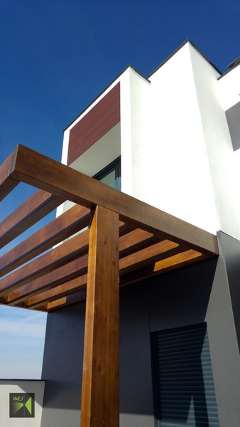 Pergola Photo 6 of Casa Herranz modern home