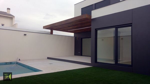 Patio Photo 2 of Casa Herranz modern home