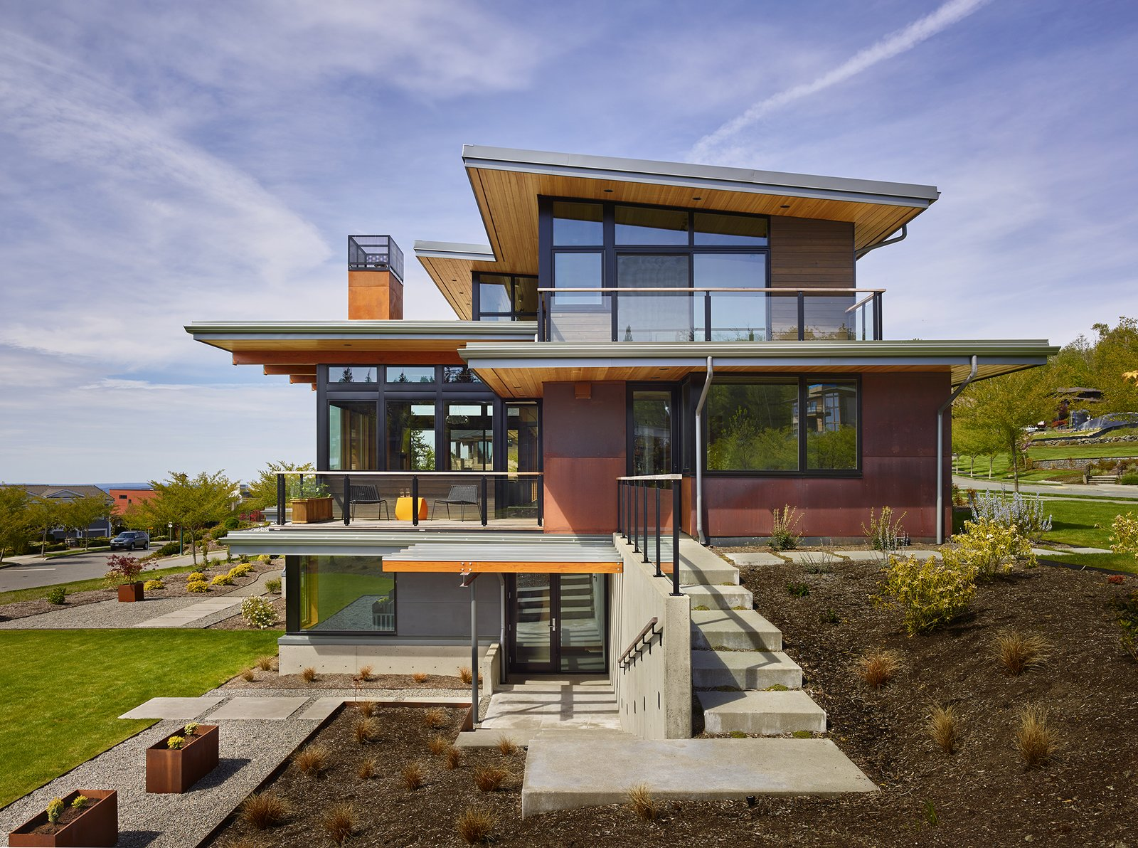 Tagged: Outdoor.  Issaquah Highlands Residence by Studio Zerbey Architecture