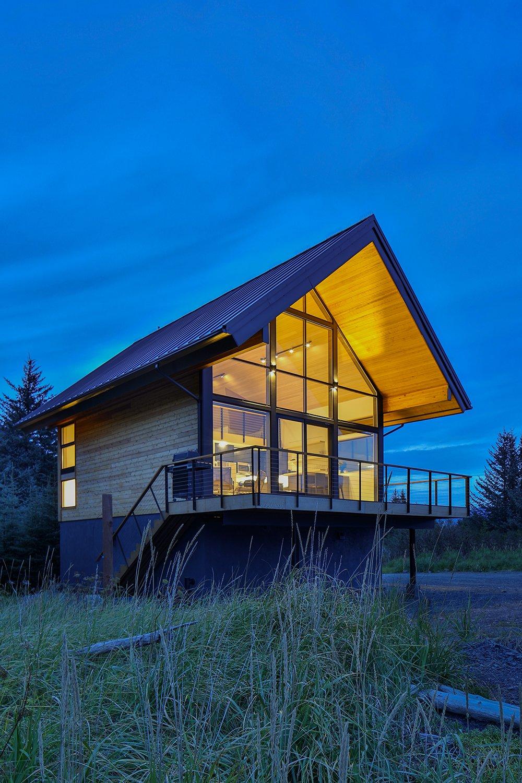 Alaska Surf Shack Modern Home In Seward Alaska By Studio
