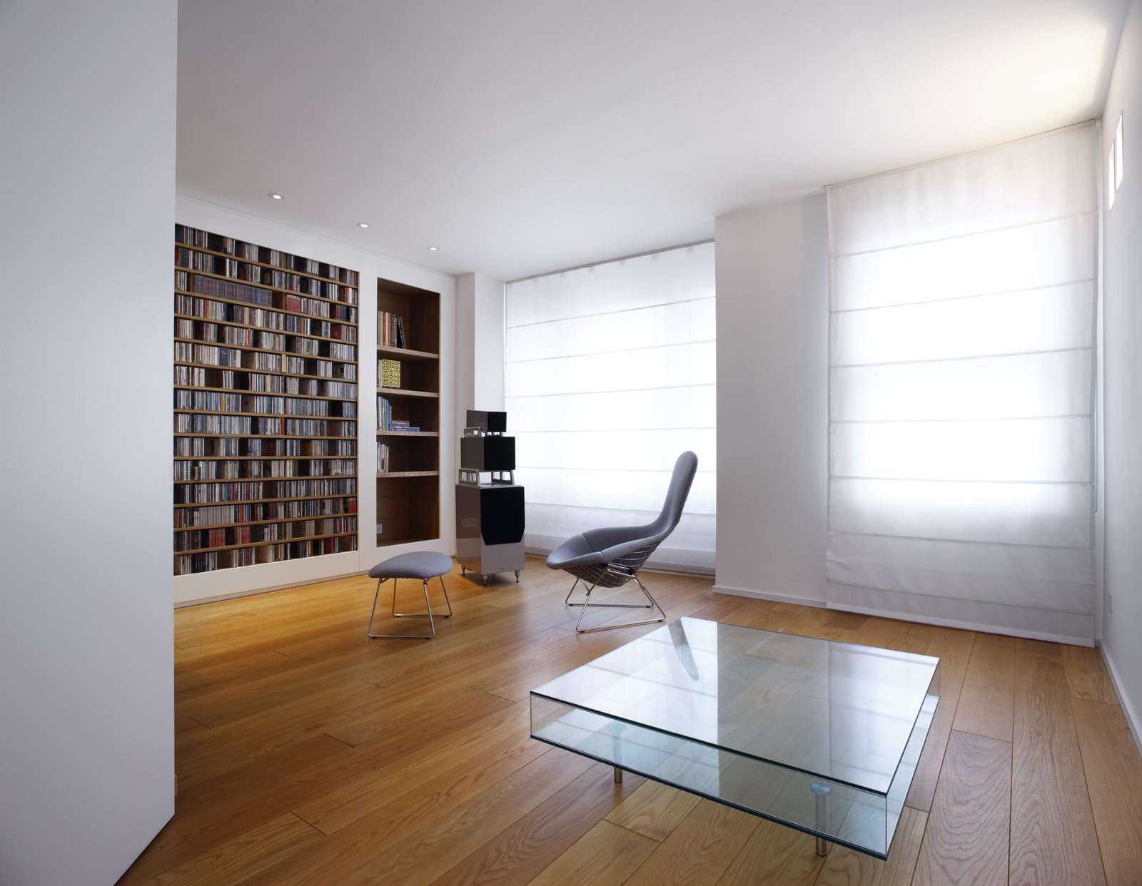 Tagged: Living Room, Coffee Tables, Chair, and Bookcase.  Elm Grove by Thompson + Baroni