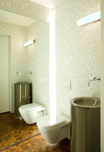Powder Bathroom Photo  of Loder Loft modern home
