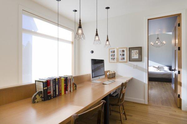 Work nook Photo 7 of Hawthorne Residence modern home