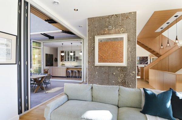 Living room Photo 5 of Hawthorne Residence modern home