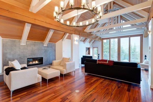 Modern home with living room. Living Room Photo  of Whistler Residence