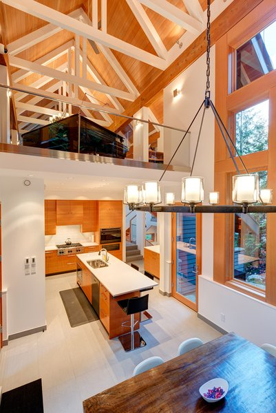 Open spaces Photo 4 of Whistler Residence modern home
