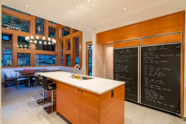 Modern home with kitchen. Kitchen Photo 6 of Whistler Residence