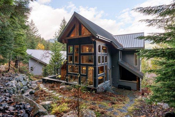 Exterior - Rear Photo 9 of Whistler Residence modern home