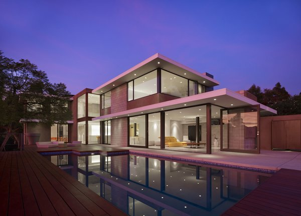 Exterior View Photo 2 of Evans House modern home