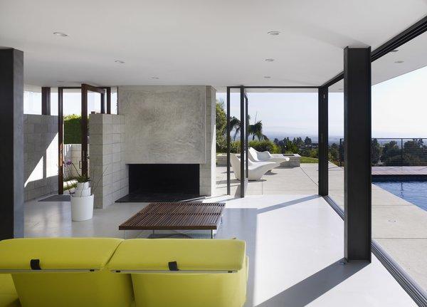 Living Room  Photo 5 of Evans House modern home