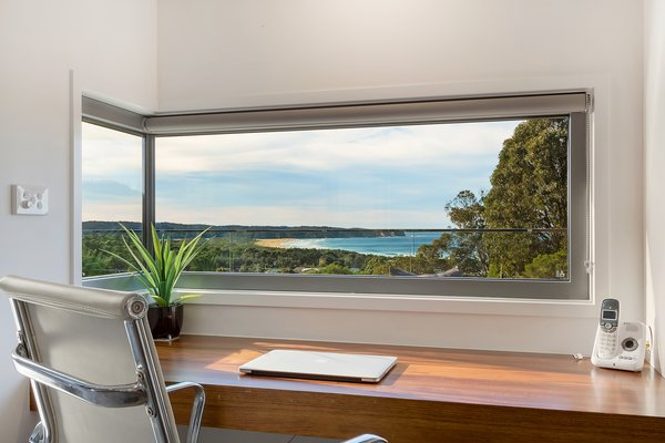 Work Station with ocean views Photo 6 of The Tathra Residence modern home