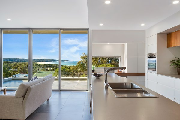 Kitchen with views Photo 7 of The Tathra Residence modern home