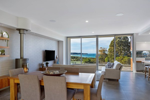 The View from the Dining Table Photo 11 of The Tathra Residence modern home