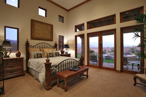 High Ceiling at Master Bedroom Photo 6 of Whispering Wind modern home