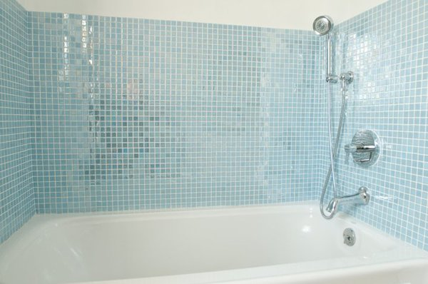 Photo  of Glow In The Dark Glass Tile Bathroom modern home