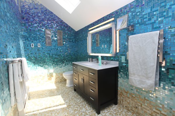 Photo 11 of A Tropical Glass Tile Get-away at Home modern home