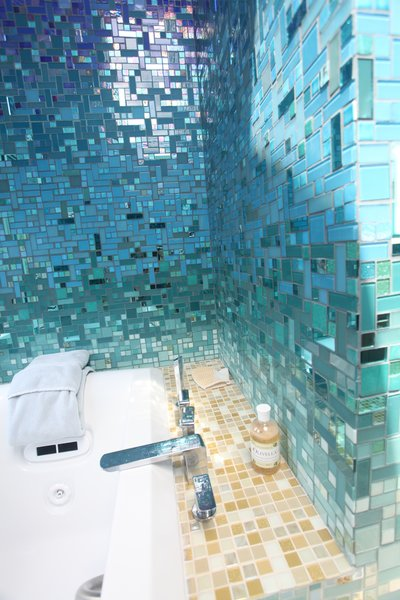 Photo 6 of A Tropical Glass Tile Get-away at Home modern home