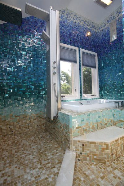Photo 9 of A Tropical Glass Tile Get-away at Home modern home