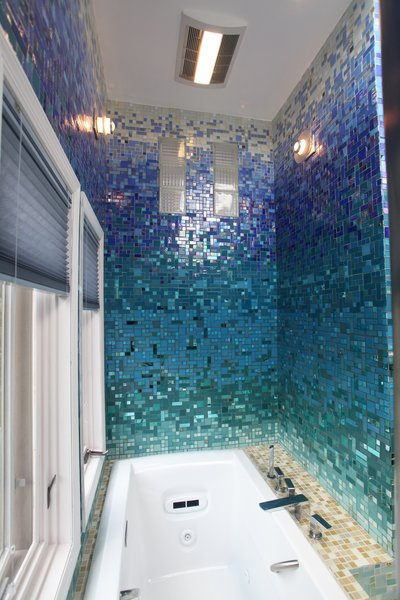 Photo 7 of A Tropical Glass Tile Get-away at Home modern home